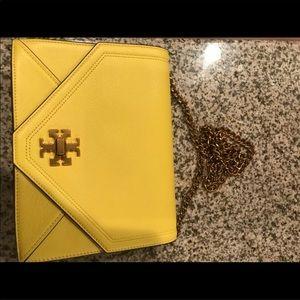 Tory Burch yellow crossbody bag